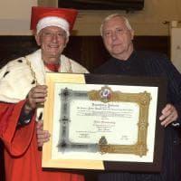 Peter Greenaway prof ad honorem dell'Università di Parma