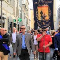 La Cgil compie 110 anni, corteo a Parma: