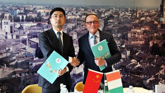 Proges stringe un accordo con la Cina
