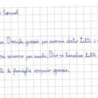 Parma, la storia di Samuel e il suo nuovo zaino