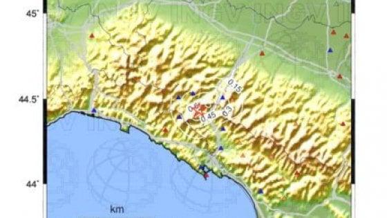 Sei scosse di terremoto nel Parmense