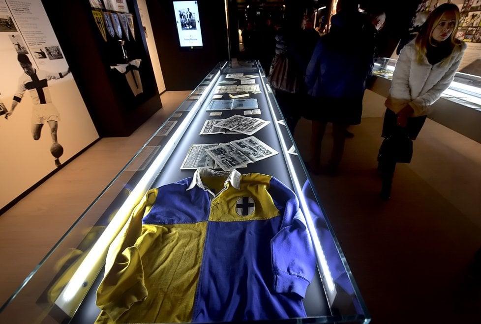 Anteprima del nuovo museo dedicato alla storia del Parma calcio