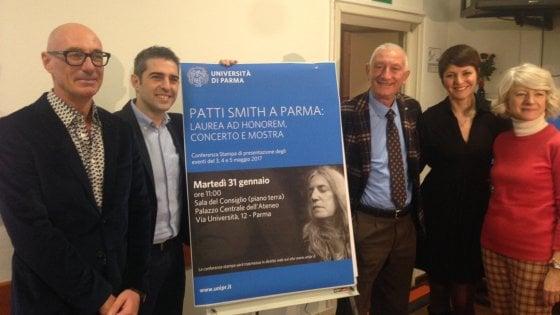 """Patti Smith a maggio a Parma: """"Un onore ricevere la laurea"""""""