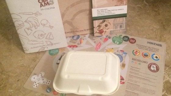 Lotta allo spreco alimentare, nei locali di Parma arriva il family bag