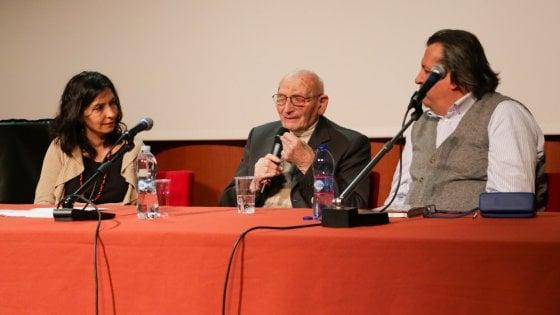 Memoria, la testimonianza di Vanzini a Parma: l'ultimo Sonderkommando italiano