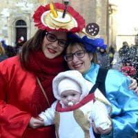 Carnevale a Parma, la sfilata dei carri Anspi per le vie del centro