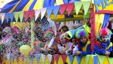 Carnevale, la sfilata dei carri Anspi -  Foto