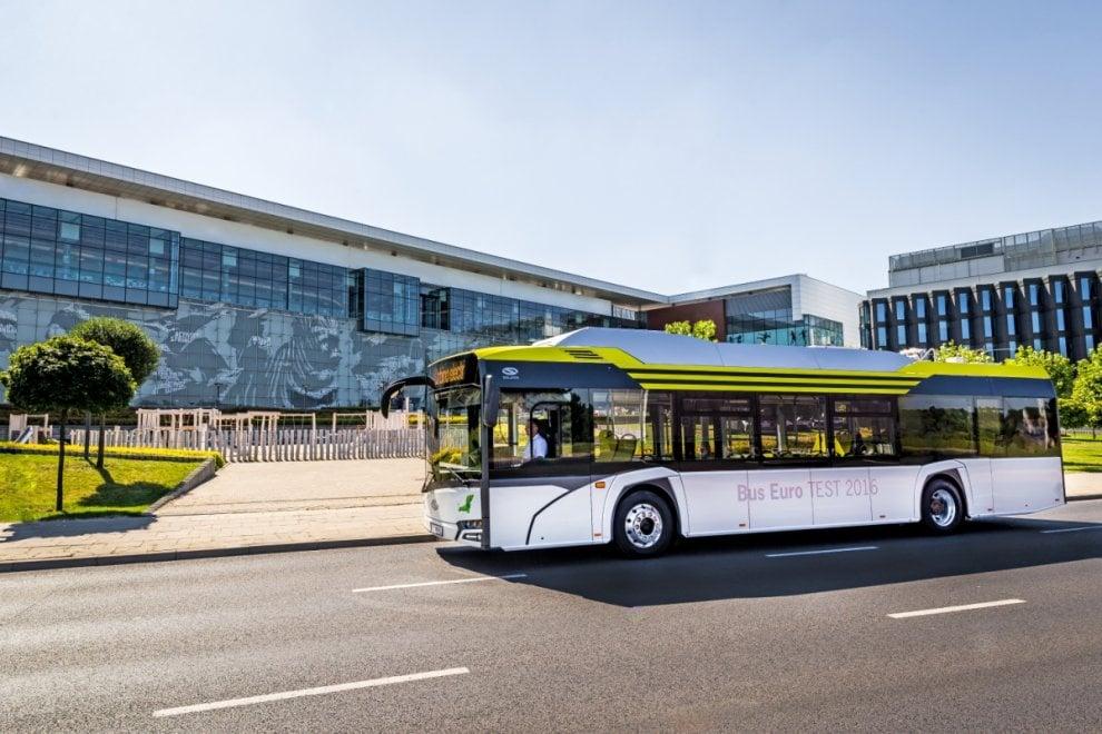 Parma, i  nuovi bus elettrici