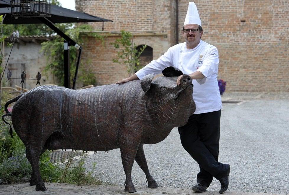 Gastronomia, chef Spigaroli alla corte di Ducasse a Parigi