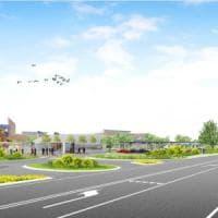 Parma, il nuovo centro Cavagnari all'insegna del verde