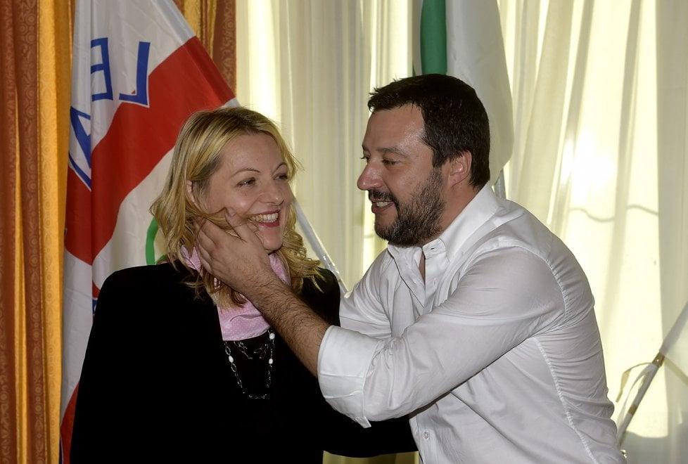 Elezioni, Salvini a Parma per la candidata Cavandoli