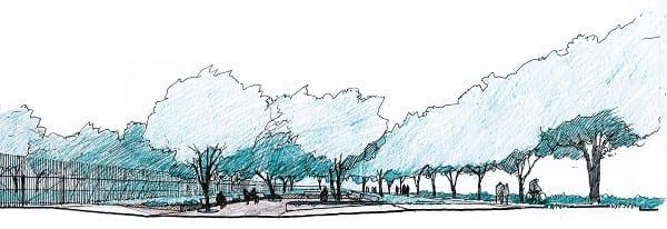 Parco Ducale, nuova entrata da viale Piacenza e arena estiva