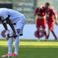Clamorosa sconfitta interna del Parma contro l'Ancona