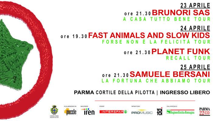 25 Aprile a Parma: il programma delle iniziative