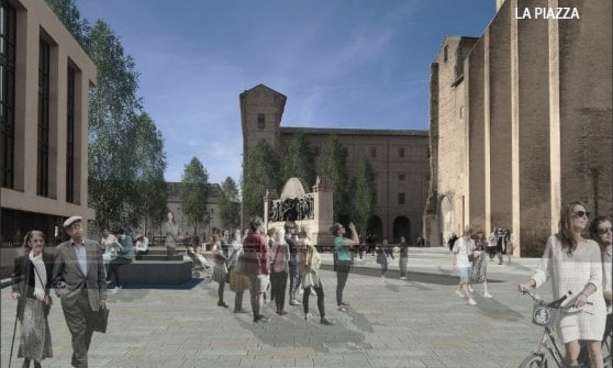 Parma, nuovi percorsi e spazi pubblici in Piazzale della Pace