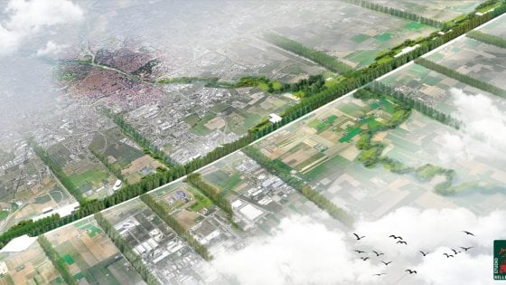 Il Kilometro Verde contro lo smog dell'AutoSole