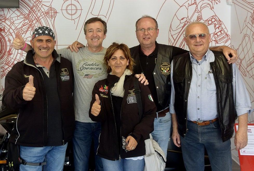 A Parma il leggendario campione di motociclismo Freddie Spencer