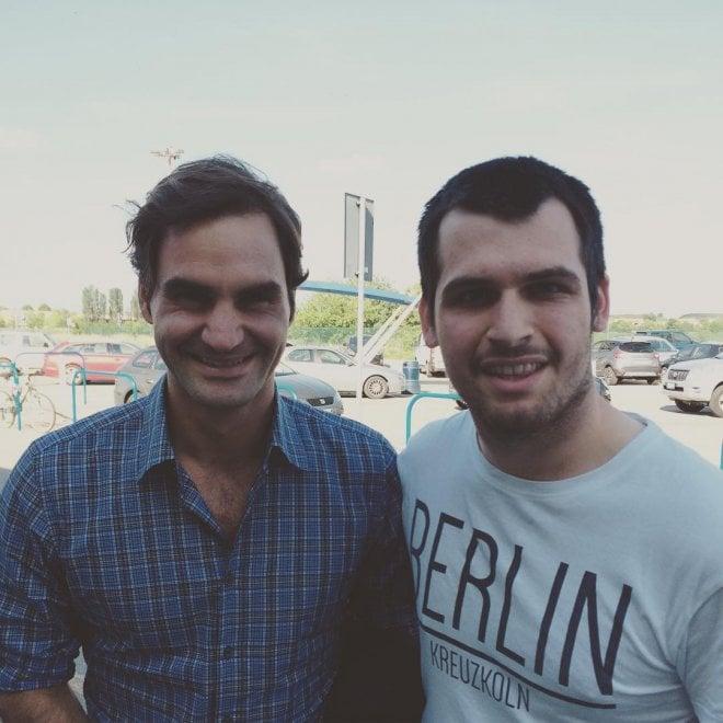 King Roger Federer a Parma