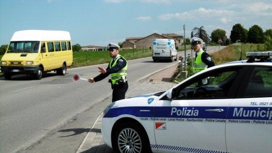 Sala Baganza, guida ubriaca e senza patente: 10mila euro di multa
