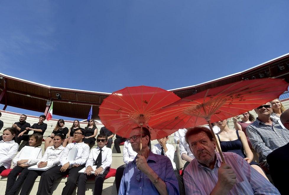 Parma, l'Arena Shakespeare si svela nel giorno della Repubblica