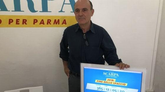 """Ballottaggio a Parma, Scarpa: """"Risolverò in un anno il problema dello spaccio"""""""