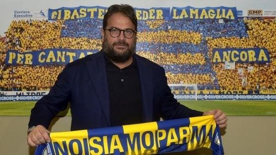 Parma, Faggiano festeggia ma quel video di Lucarelli...