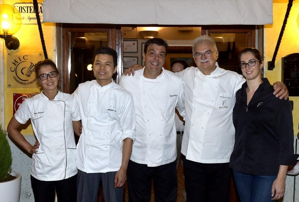 Cucina, a cena con il maestro pasticcere Gino Fabbri agli Antichi Sapori