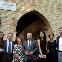 A Busseto inaugurata piazza Carlo Bergonzi