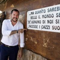 Fontevivo, Salvini alla Festa della Lega Nord