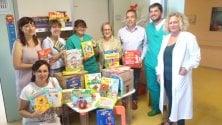 Pediatria ospedale  di Vaio: libri in regalo