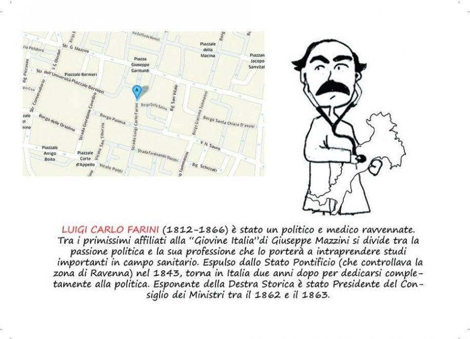 Stradario Parmigiano a vignette - Foto