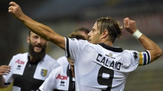 Parma-Cremonese 1-0: decide Calaiò su rigore