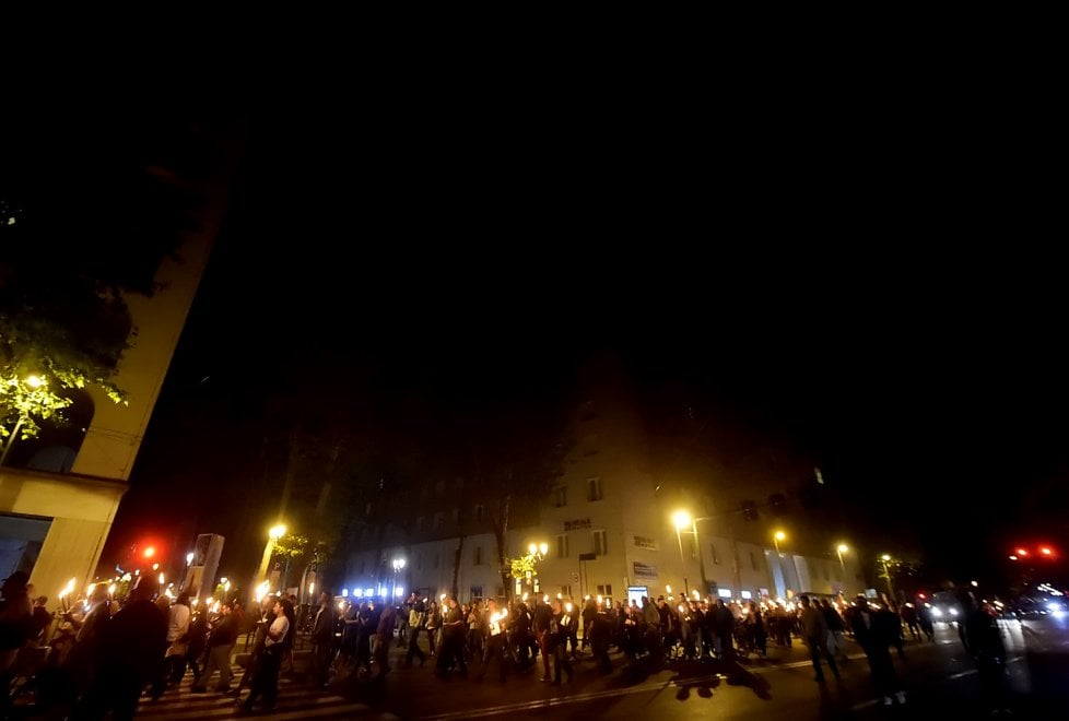 """""""Per la sicurezza contro il degrado"""": 400 in corteo con Casapound a Parma"""