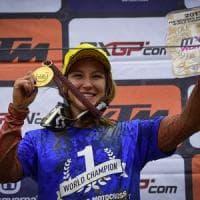 Kiara Fontanesi vince il quinto mondiale ed entra nella storia del motocross