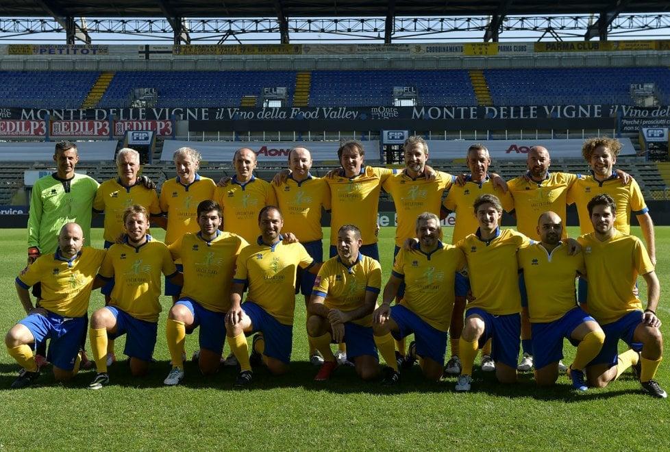 Solidarietà: al Tardini le ex glorie del Parma per Giocamico onlus