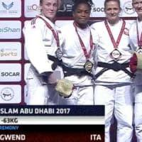 Judo, Edwige Gwend oro ad Abu Dhabi