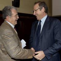 Università di Parma, convegno de Il Borgo con Romano Prodi