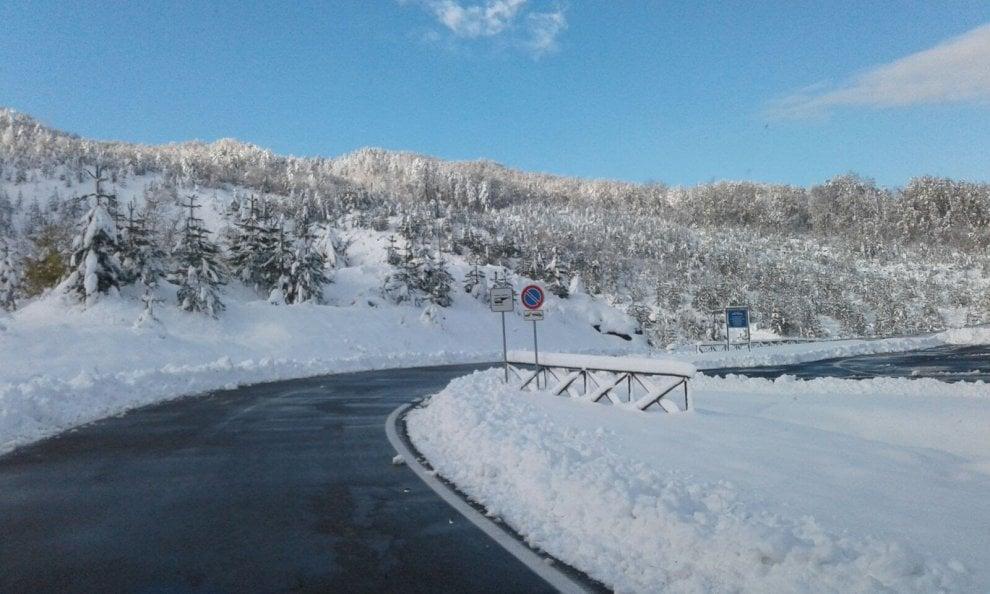 Nevicata sull'appennino Parmense - Foto