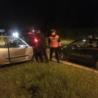 Langhirano, ladro abbandona auto e fugge nei campi