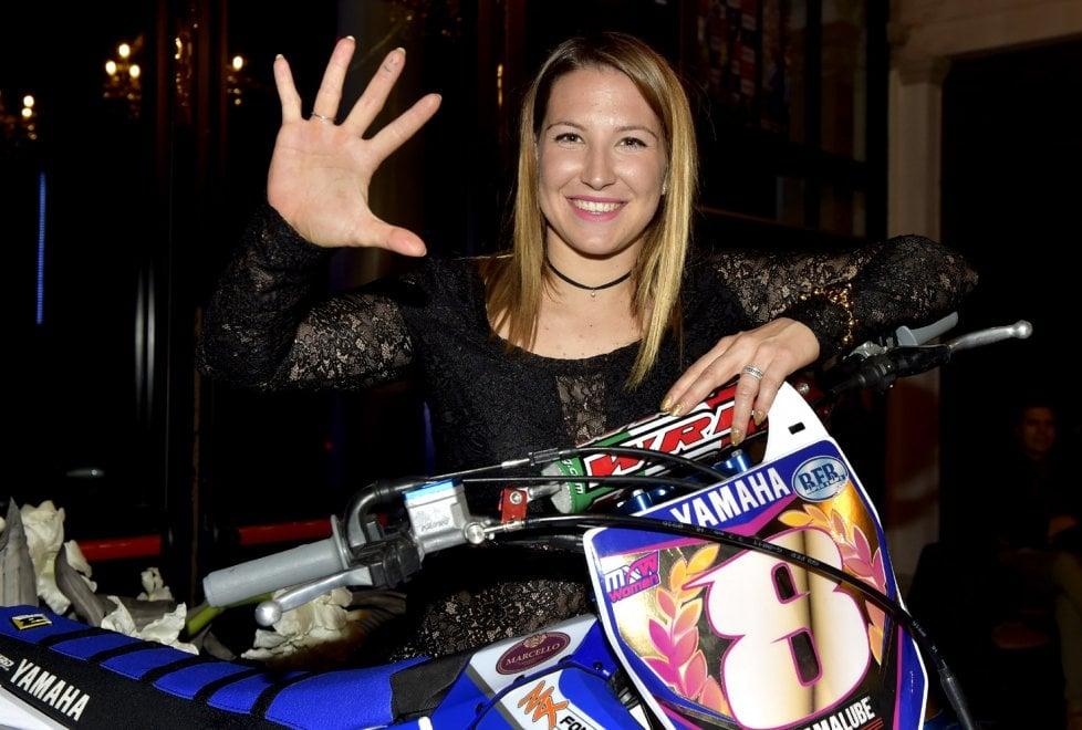 Motocross: notte di festa per il quinto titolo mondiale di Kiara Fontanesi