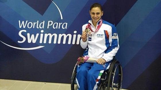 Mondiali paralimpici Ghiretti è subito oro in Messico