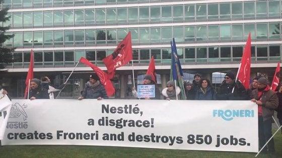 Froneri, sciopero generale dell'industria alimentare di Parma