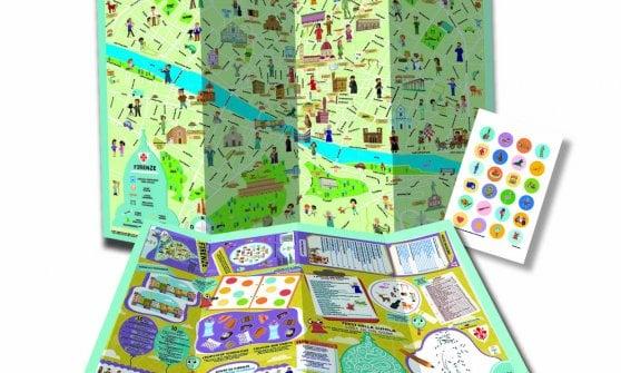 Italy for kids, la mappa di Parma a misura di bambino