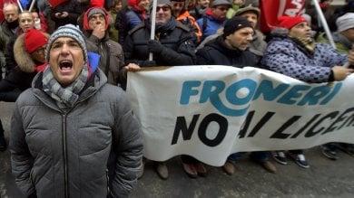 Vertenza Froneri: corteo nel giorno  dello sciopero generale -  Foto