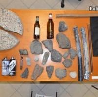 Antagonisti in piazza a Modena: arrestato un parmigiano di 28 anni
