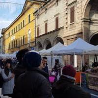 Parma, la festa Ascom in via D'Azeglio