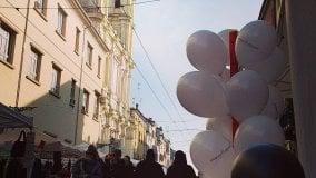 La festa Ascom in via D'Azeglio