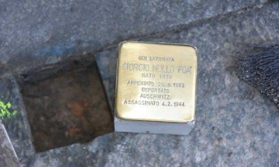 Parma, posate le pietre della memoria
