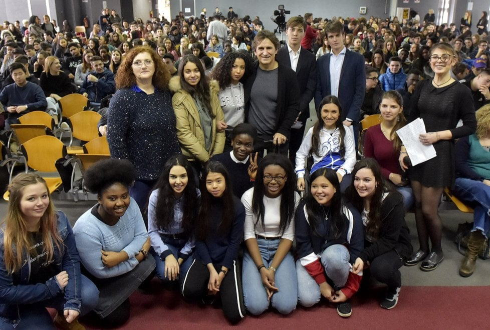 Parma, la speciale lezione di Zanardi agli studenti del Bodoni - Foto