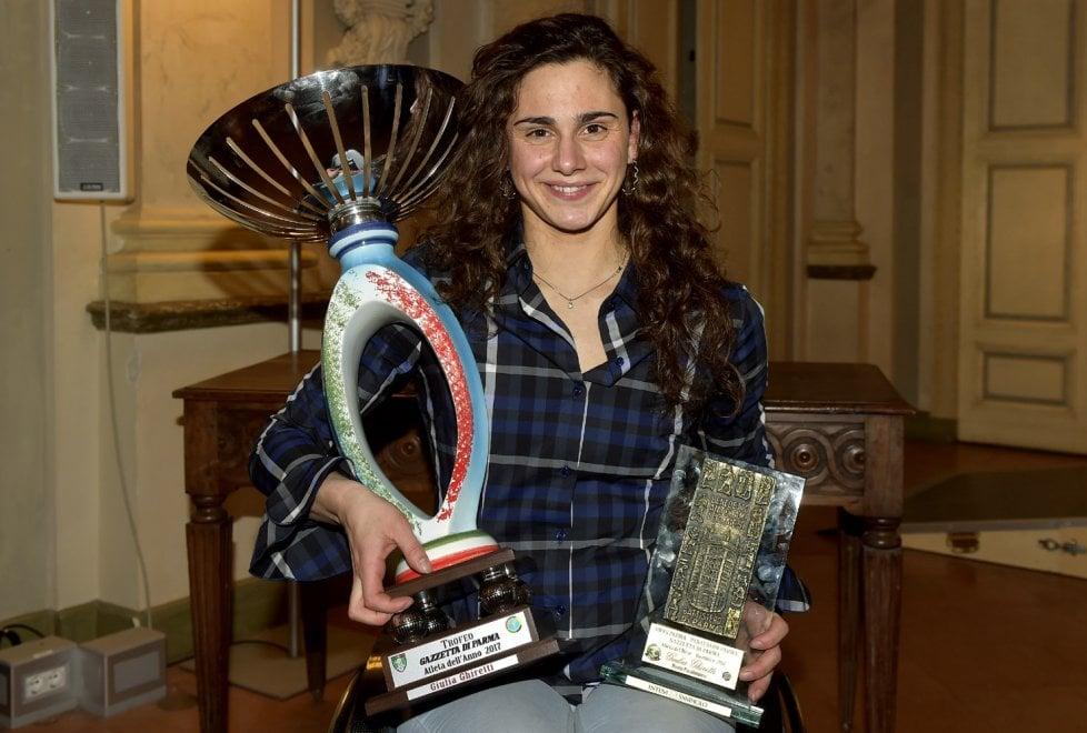 Giulia Ghiretti atleta dell'anno a Parma - Foto